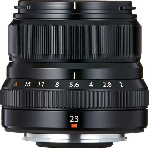 Fujifilm XF 23mm f/2.0 R WR Zwart Main Image