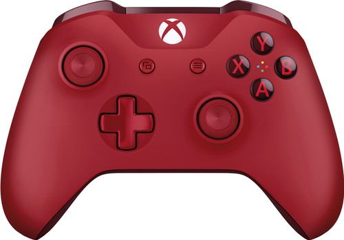 Microsoft Xbox One S Wireless Controller Red Main Image