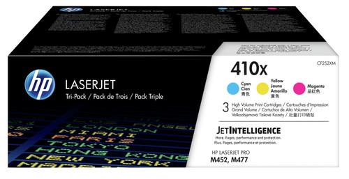 HP 410X 3-Color Pack (CF252XM) Main Image