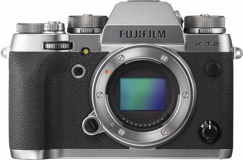 Fujifilm X-T2 Body Graphite Silver Main Image