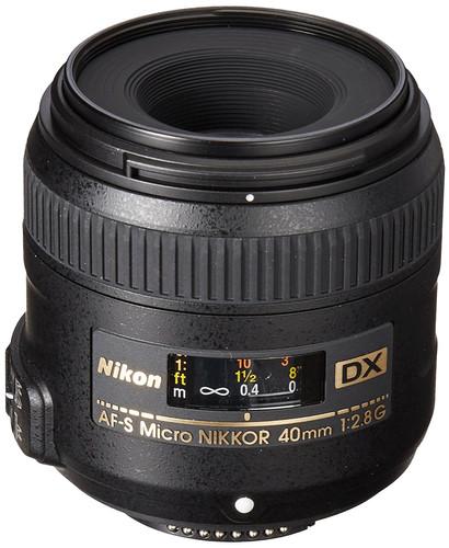 Nikon AF-S DX Micro-NIKKOR 40mm f/2.8G Main Image