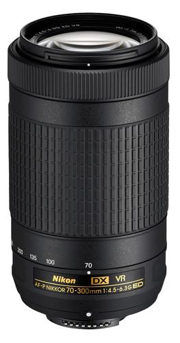 Nikon AF-P DX 70-300 mm f/4.5-6.3G ED VR Main Image