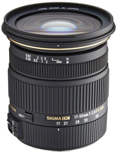Sigma 17-50mm f/2.8 EX DC OS HSM Nikon Main Image