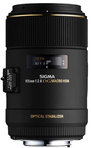 Sigma 105mm f/2.8 EX DG Macro OS HSM Canon Main Image