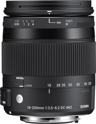 Sigma 18-200mm f/3.5-6.3 DC Macro OS HSM C Nikon Main Image