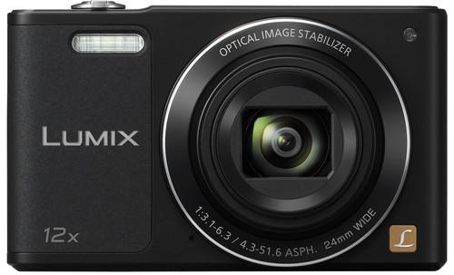 Panasonic Lumix DMC-SZ10 Black Main Image
