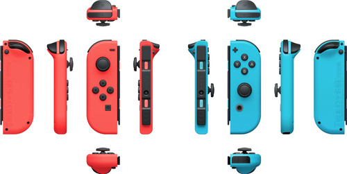 Nintendo Switch Joy-Con set Red / Blue - Coolblue - Before 23:59, delivered  tomorrow