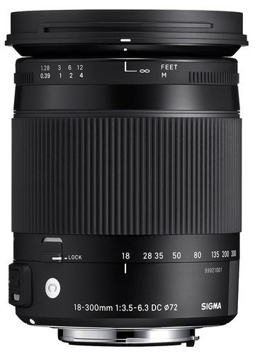Sigma 18-300mm f/3.5-6.3 DC Macro HSM C Sony Main Image