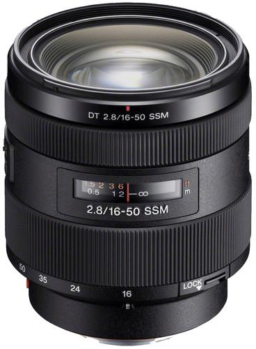 Sony 16-50mm f/2.8 SSM DT Main Image