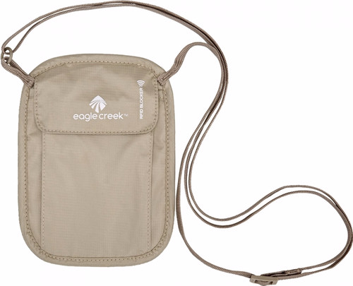 Eagle Creek RFID Blocker Neck Wallet Tan Main Image