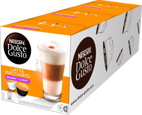 Dolce Gusto Latte Macchiato Light 3 pack Main Image
