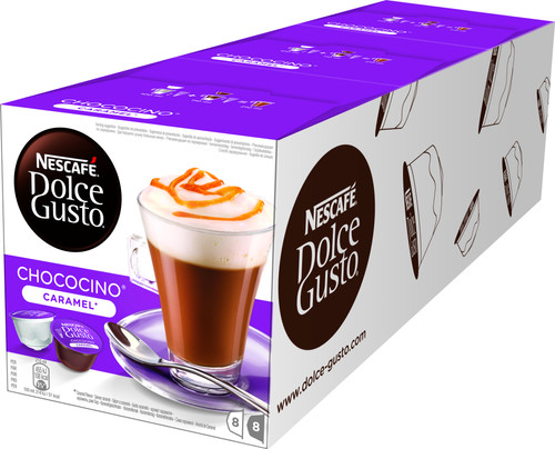 Dolce Gusto Choco Caramel 3 pack Main Image