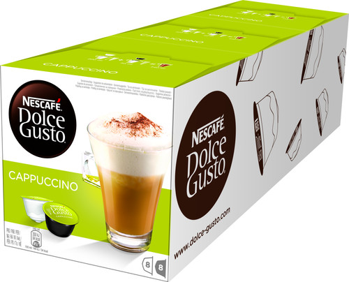 Dolce Gusto Cappuccino 3 pack Main Image