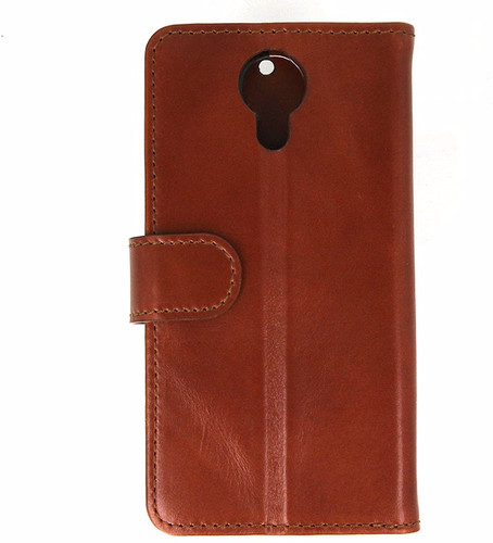 Valenta Classic Luxe General Mobile AndroidOne 4G/GM5 Book Case Brown Main Image