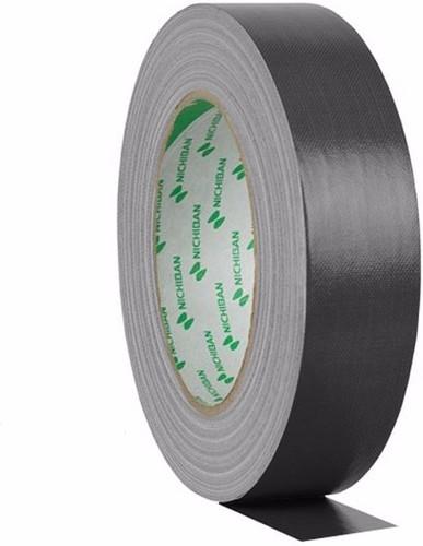 Nichiban Gaffa Tape Zwart 25 m lang, 50 mm Breed Main Image