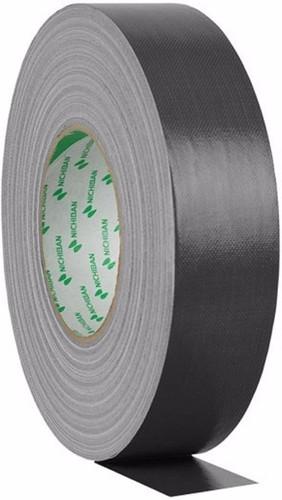 Nichiban Gaffa Tape Zwart 50 m Lang, 50 mm Breed Main Image