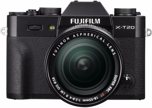 Fujifilm X-T20 Black + XF 18-55mm f/2.8-4.0 R LM OIS Main Image