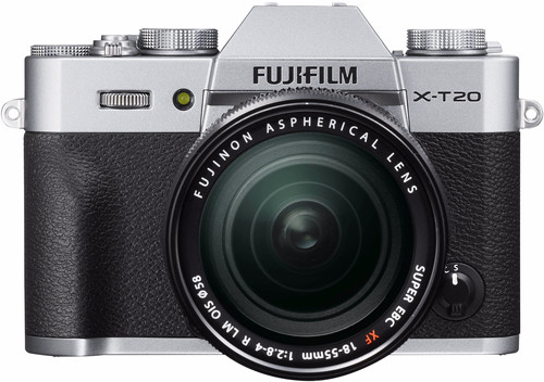 Fujifilm X-T20 Silver + XF 18-55mm f/2.8-4.0 R LM OIS Main Image