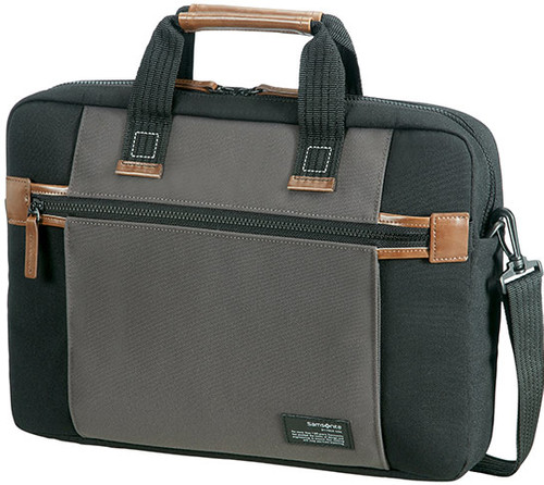Samsonite Sideways Laptoptas 15,6'' Zwart/Grijs Main Image