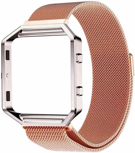 Just in Case Milanees Polsband Fitbit Blaze Rose Gold Main Image