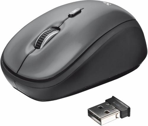 Trust Yvi Draadloze Muis Zwart - Beste laptop muizen