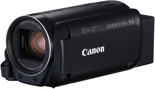 Canon Legria HF R806 Zwart Main Image
