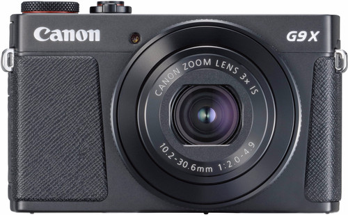 Canon PowerShot G9 X Mark II Black Main Image