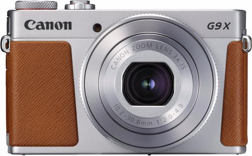 Canon PowerShot G9 X Mark II Zilver Main Image