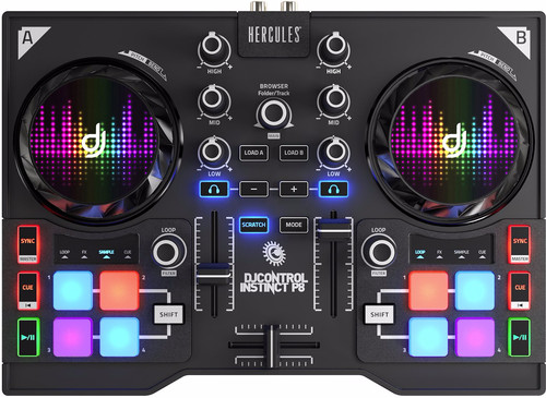 Hercules DJControl Instinct P8 Main Image