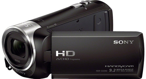 Sony HDR-CX240 Main Image