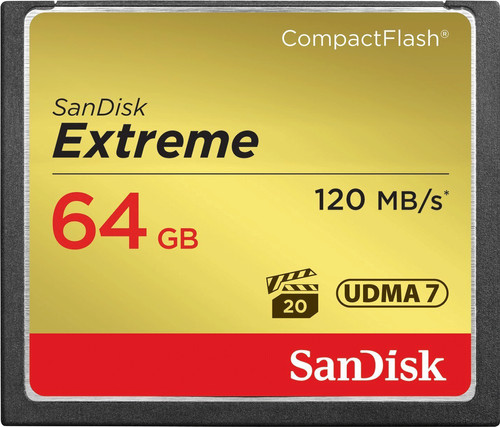 Sandisk CF Extreme 64GB 120MB/s Main Image