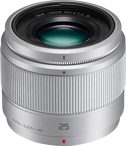 Second Chance Panasonic Lumix G 25mm f/1.7 ASPH silver Main Image