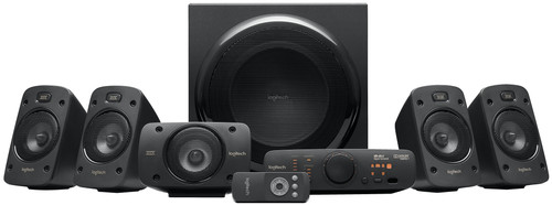 Logitech Z906 5.1 Surround Sound Speakers + Receiver Main Image