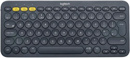 Logitech K380 Draadloos Toetsenbord QWERTY Grijs Main Image