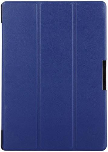 separation shoes 4ba77 adfec Just in Case Lenovo Tab 3 10-inch Smart Tri-Fold Case Blue