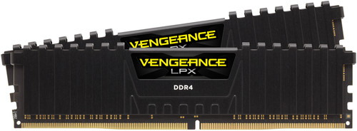 Corsair Vengeance LPX 16GB DIMM DDR4-3000/15 2x 8GB Black Main Image