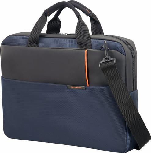 "Samsonite Qibyte Shoulder Bag 14.1"" Blue Main Image"