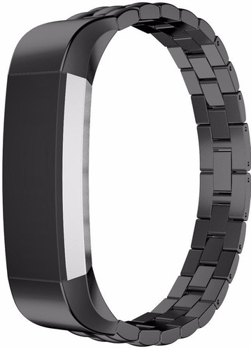 e297667b5306b Just in Case Premium Chain Stainless Steel Wristband Fitbit Alta Black