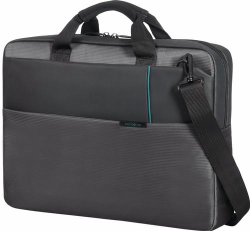 "Samsonite Qibyte Shoulder Bag Anthracite 17.3"" Main Image"