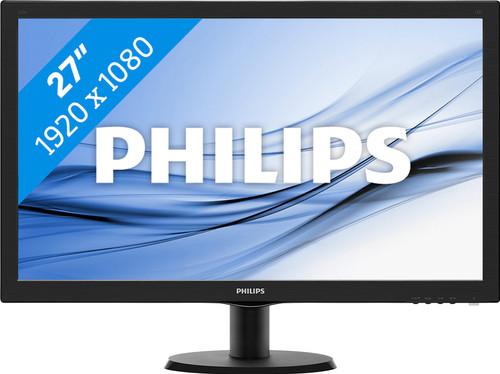 58ae51589fa28b Philips 273V5LHAB - Coolblue - Voor 23.59u