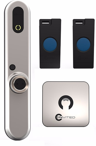 Invited Smart lock Basic 30/30 with wall switch Main Image