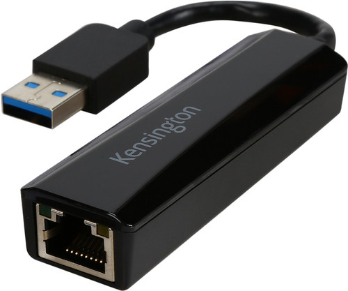 Kensington UA000E USB 3.0 naar Gigabit Ethernet adapter Main Image