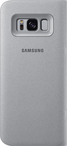 Samsung Galaxy S8 LED View Cover Silver Main Image