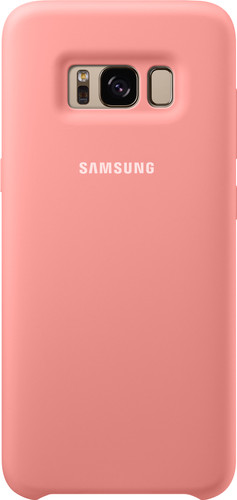Samsung Galaxy S8 Silicone Back Cover Roze Main Image