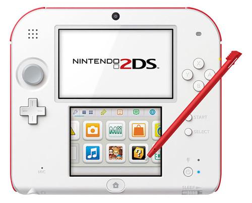 Nintendo 2DS New Super Mario Bros  2 Pack