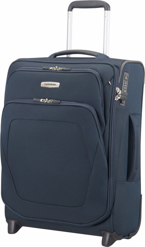 Samsonite Spark SNG Expandable Upright 55cm Blue Main Image