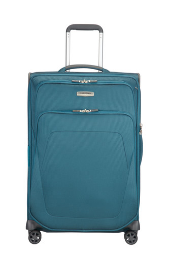 Samsonite Spark SNG Expandable Spinner 67cm Petrol Blue Main Image