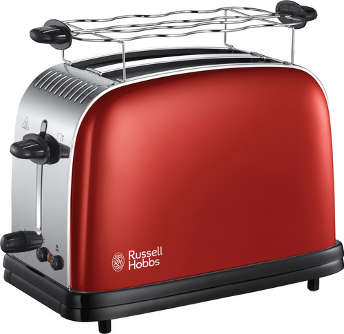 Russell Hobbs Colours Plus+ Flame Red Toaster 23330-56 Main Image