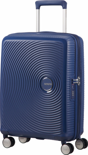American Tourister Soundbox Expandable Spinner 55cm Midnight Navy Main Image