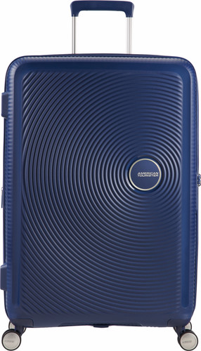 American Tourister Soundbox Expandable Spinner 67cm Midnight Navy Main Image